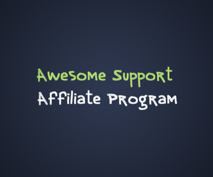 Awesome Support Affiliate Program