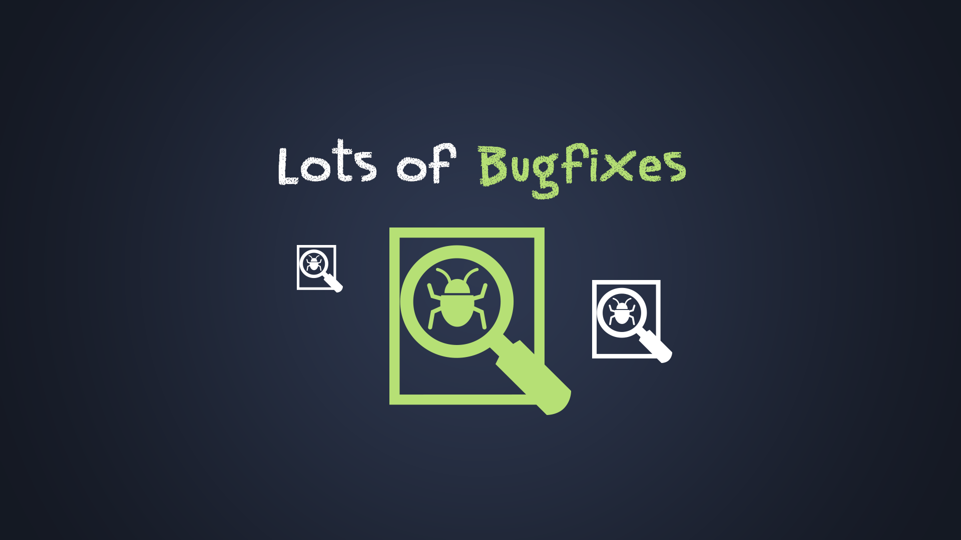 Lots of Bugfixes