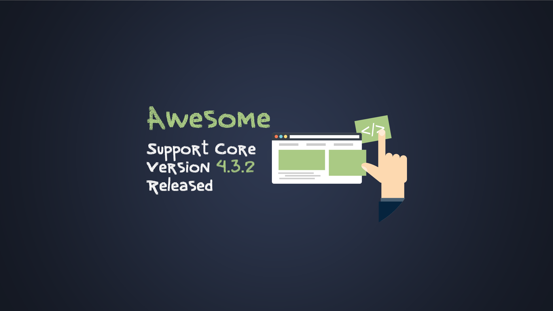 Awesome Support Core Update 4.3.2 (Includes Security Updates)