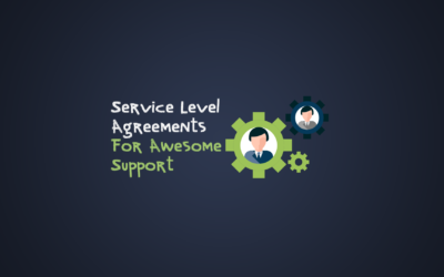 New Product: Service Level Agreements