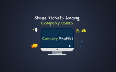 Share Tickets Among Company Users