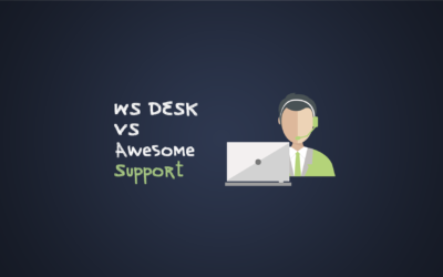 WS DESK vs Awesome Support: A Helpdesk Plugin Comparison