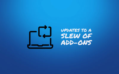 Many Minor Updates To A Slew Of Add-ons