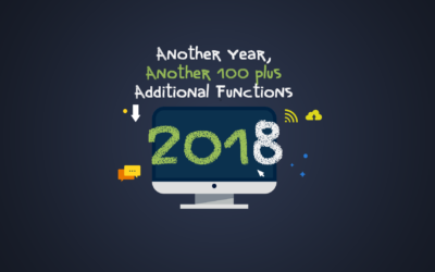 2018 – Another Year, Another 100+ Additional Functions To Awesome Support