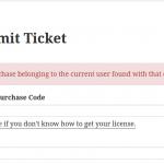 Incorrect License
