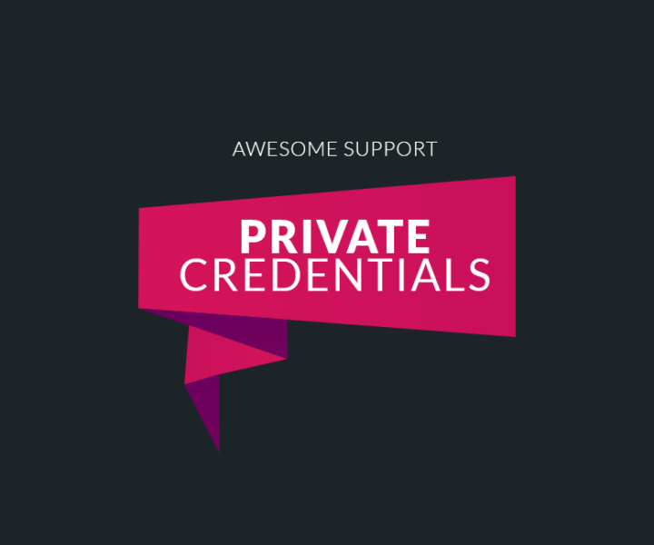 Private Credentials