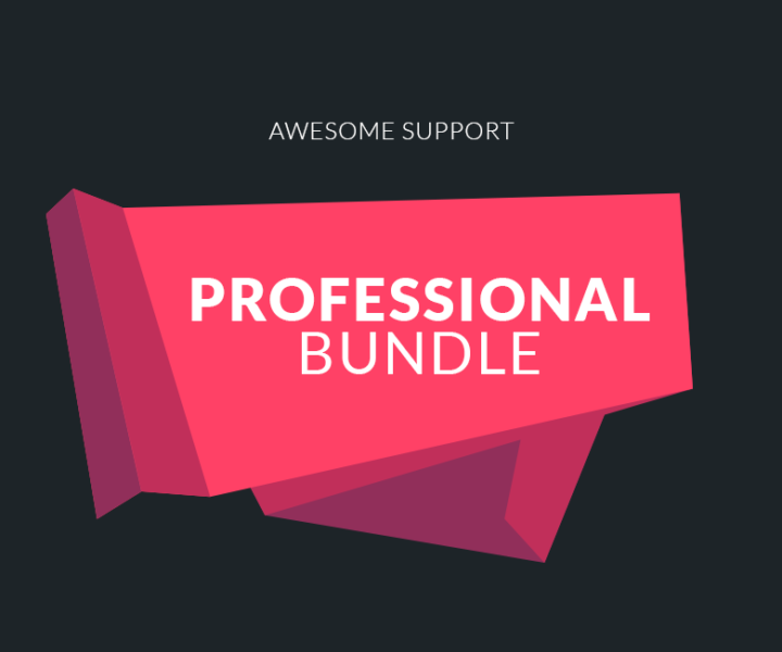 Awesome Support Professional Bundle