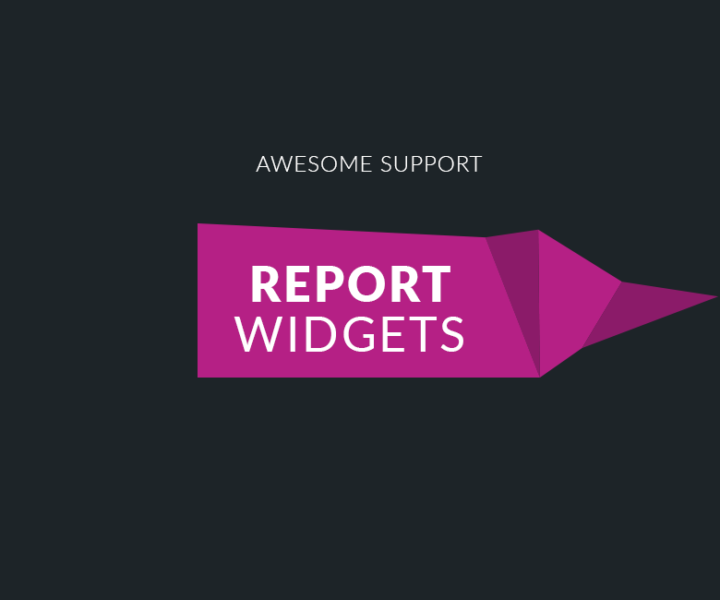 Awesome Support Report Widgets