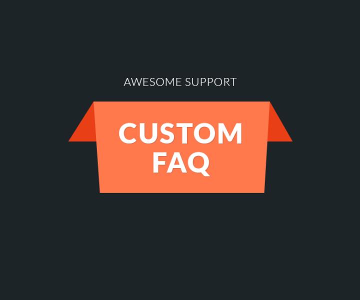 Custom FAQ